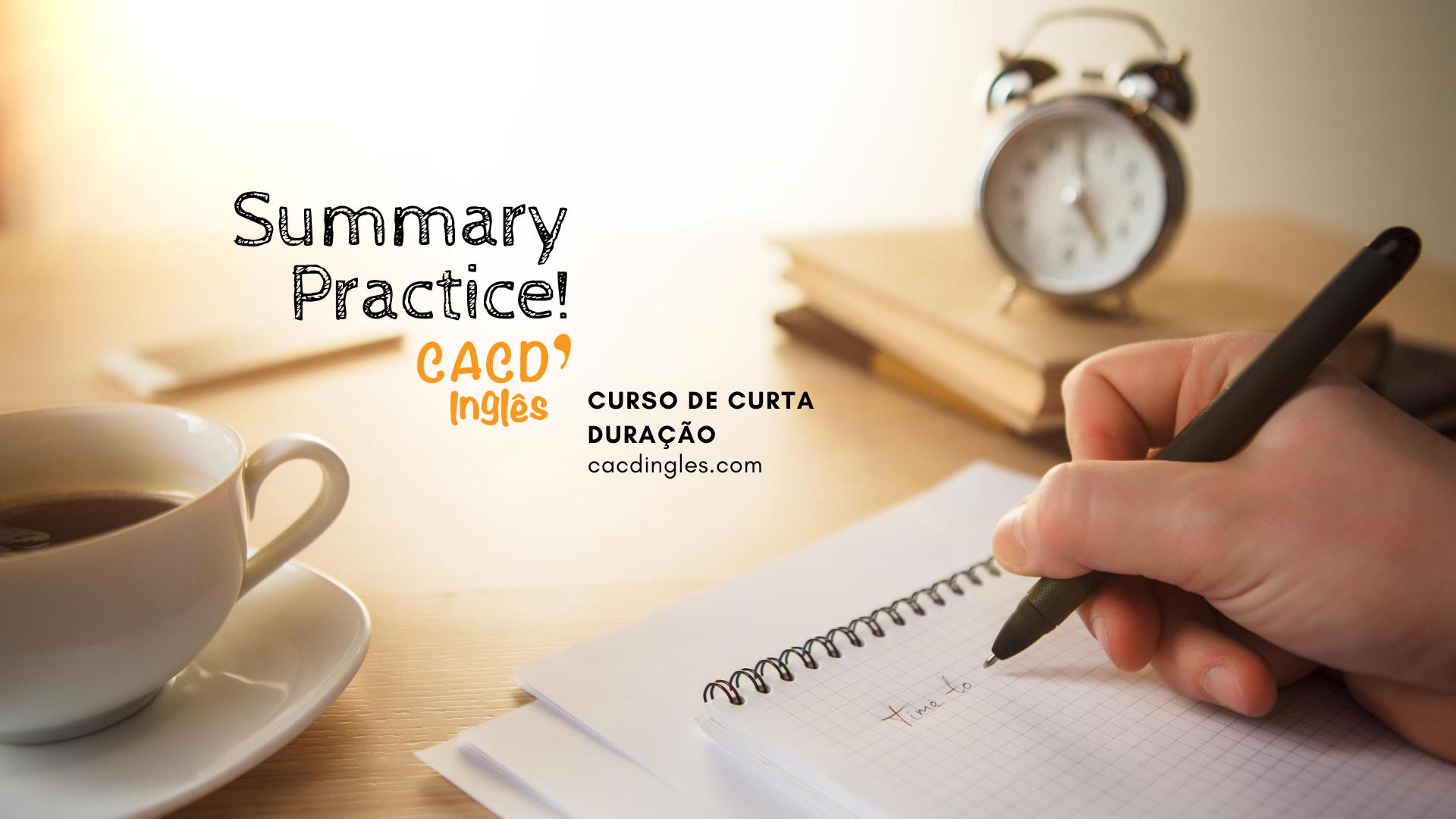 Summary Pratice